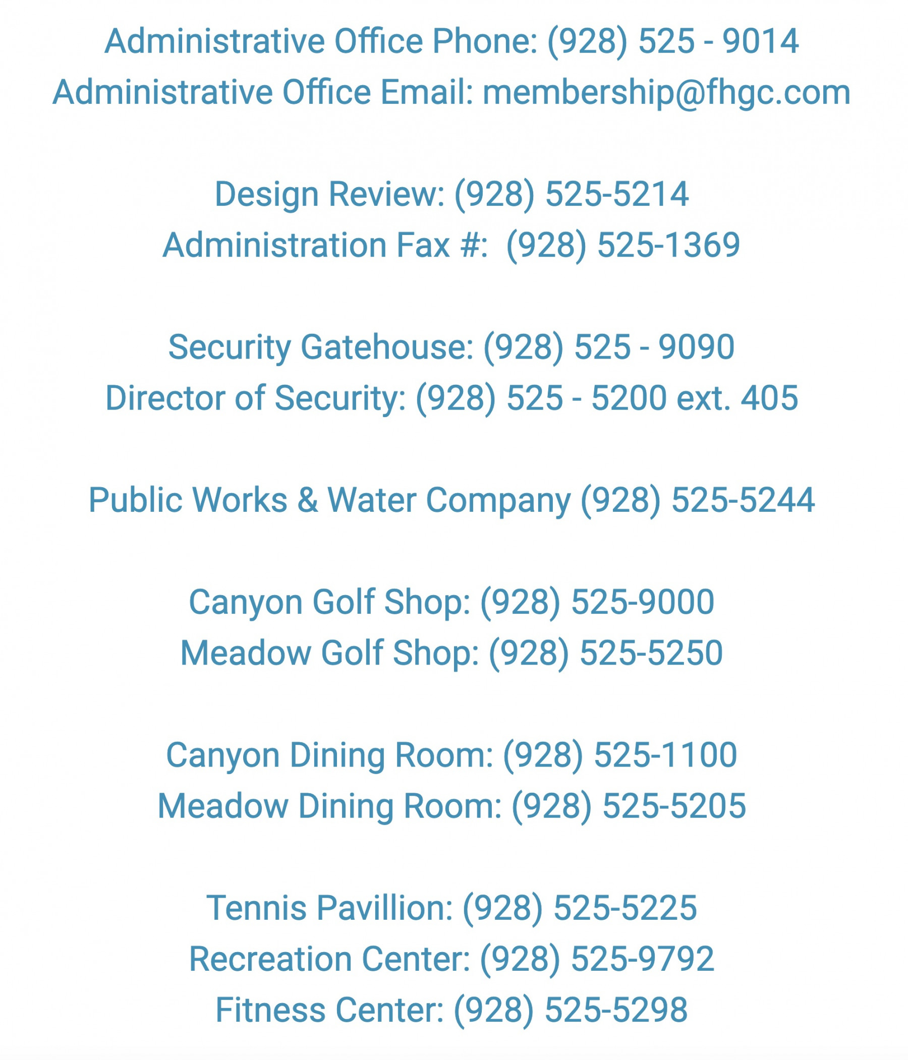 Forest_Highlands_Golf_Club_-_Contact_List_Phone