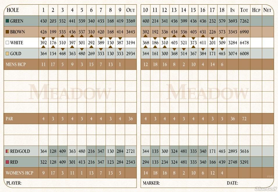 Meadow Scorecard